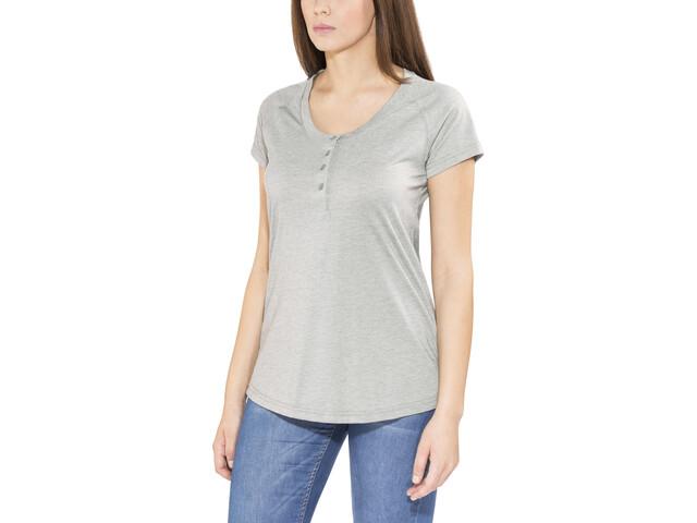 Bergans Gullholmen T-shirt Femme, grey melange